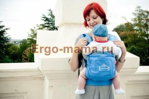 Стильный рюкзак украсит любую мамочку.